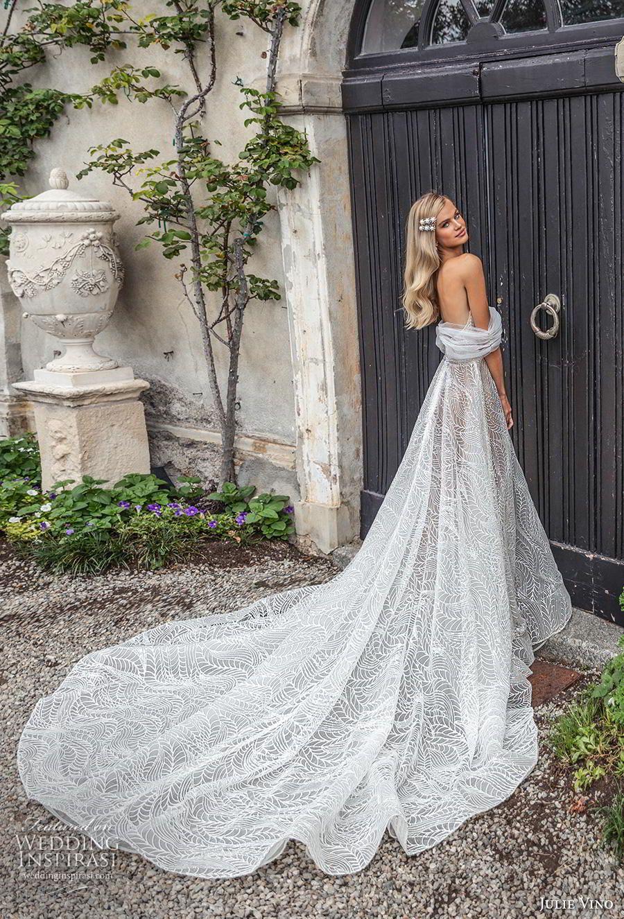 """Julie Vino Herbst 2020 Brautkleider – Brautkollektion """"Bellagio""""   – Wedding Dresses Inspiration"""