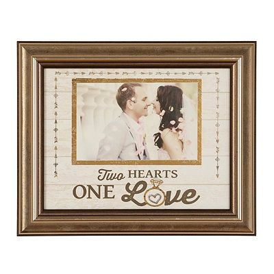 One Love Picture Frame, 4x6 You could hack this EASY make it in a 2 ...