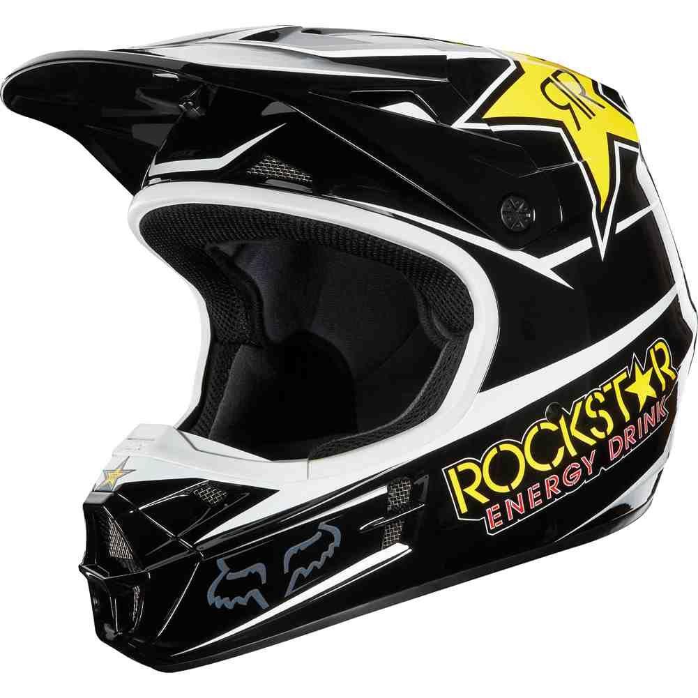 Rockstar Dirt Bike Helmet Dirt Bike Helmets Dirt Bike