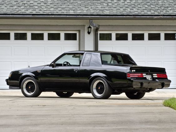 Buick Regal Grand National 1984 87 Buick Grand National Buick Grand National