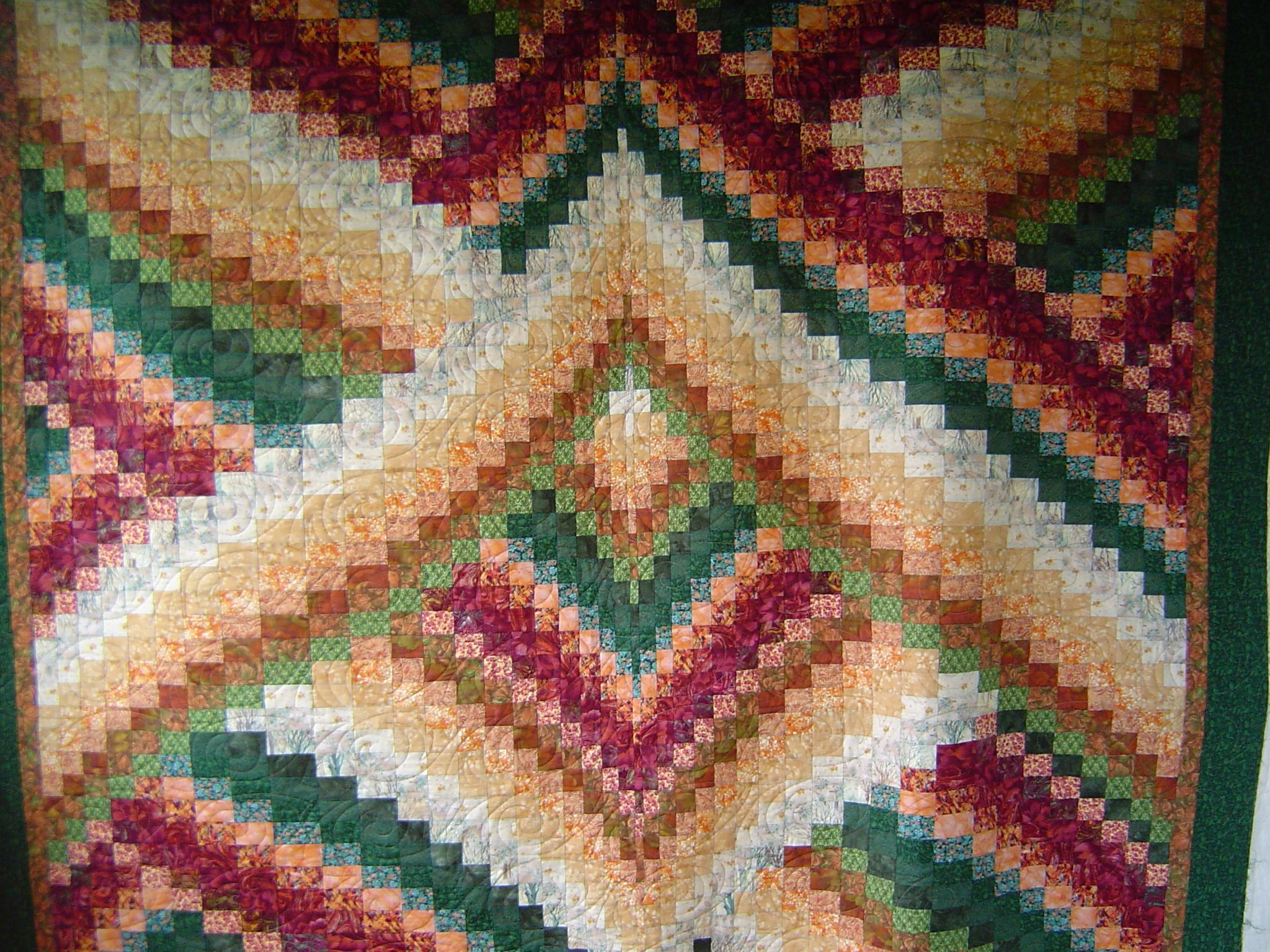 Twisted Bargello Quilt Pattern Free Unique Inspiration