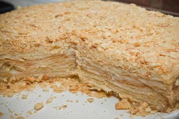 Napoleon-Kuchen - Russische Rezepte - #NapoleonKuchen #Rezepte #Russische #napoleonkuchenrussisch