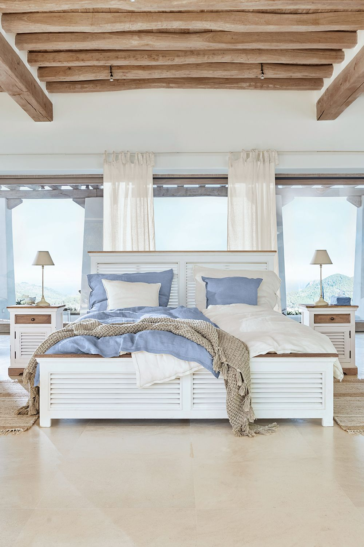 Pin Von Marina Schitter Auf Schone Einrichtungen In 2020 Schlafzimmer Einrichten Blau Weiss Schlafzimmer Wohn Schlafzimmer