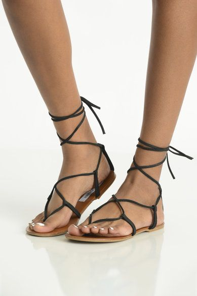 eebb6808b53 Steve Madden Lace Up Gladiator Sandals | Lace up gladiator sandals ...