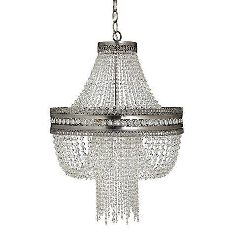Lucia crystal chandelier crystalclear john lewis chandeliers buy john lewis lucia crystal chandelier crystalclear online at johnlewis aloadofball Choice Image