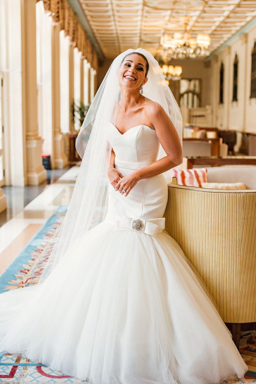 Wedding beach dress  ViktoruRolf wedding dress The Breakers Palm Beach Wedding  Samantha