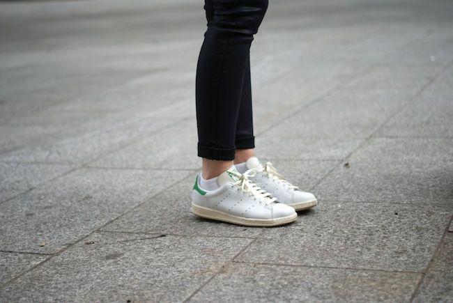 adidas stan smith femme vert