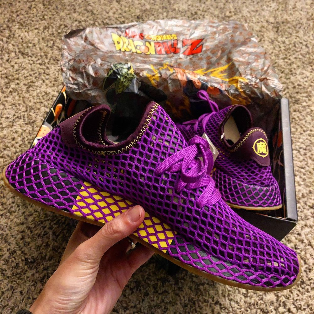4dd7ed84bd528 Dragon Ball Z Adidas Deerupt Son Gohan  fashion  clothing  shoes   accessories  mensshoes  athleticshoes (ebay link)