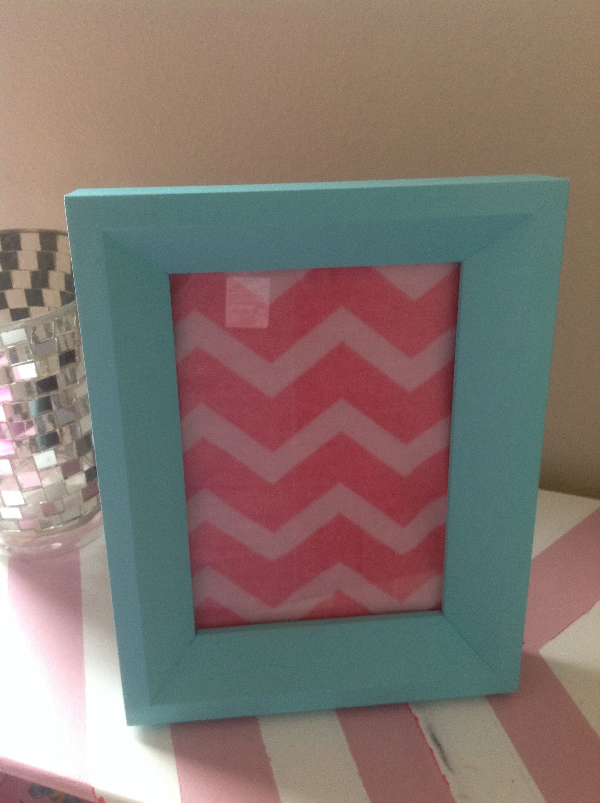 Cute ( and fast) DIY picture frame project! Give that old frame a ...