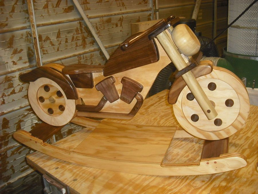 Motorcycle Rocker Plans Free Video Tutorial Yard Pinterest