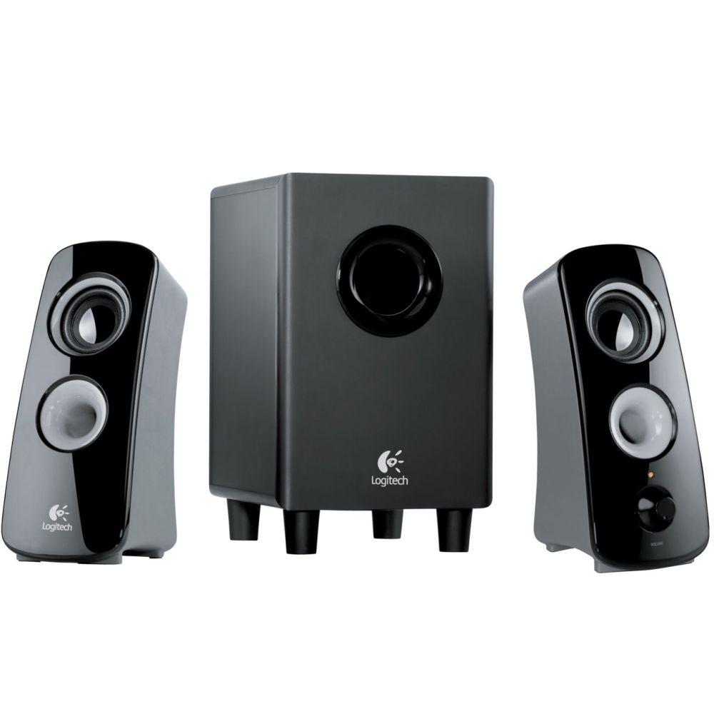 Logitech - Z323 Speaker System - Black | Logitech, Speaker system ...