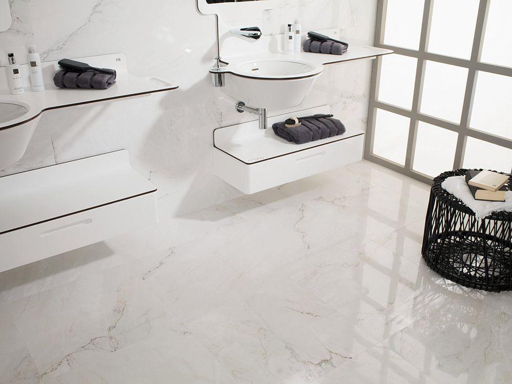 Porcelanosa Bianco Carrarafloor Tiles M Pinterest Carrara