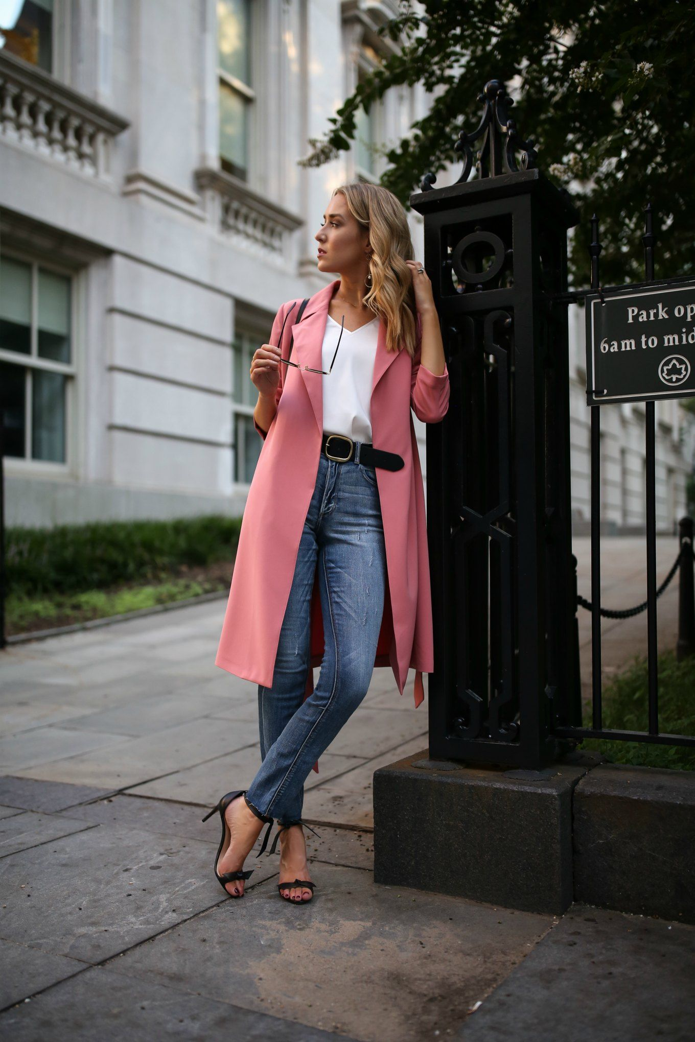An Ode To Denim Casual Work Outfits Fashion Fall