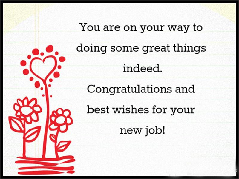 120 Best Wishes For New Job Congratulations Messages New Job