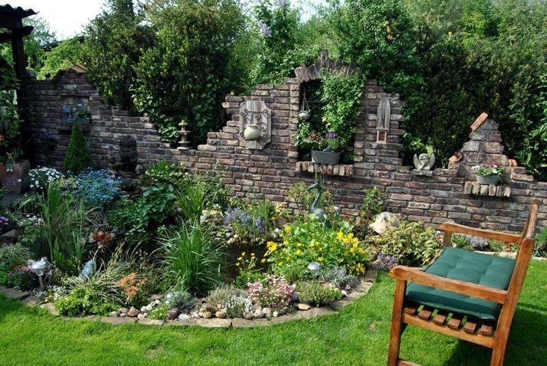 lesergarten teich haus und garten pinterest garden garden landscaping und garden arches. Black Bedroom Furniture Sets. Home Design Ideas