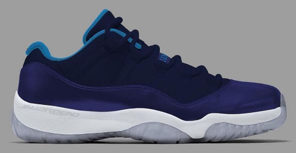 076b16b6cdaadb Is This A First Look At The Air Jordan 11 Low GS Blue Moon Sunset Blue