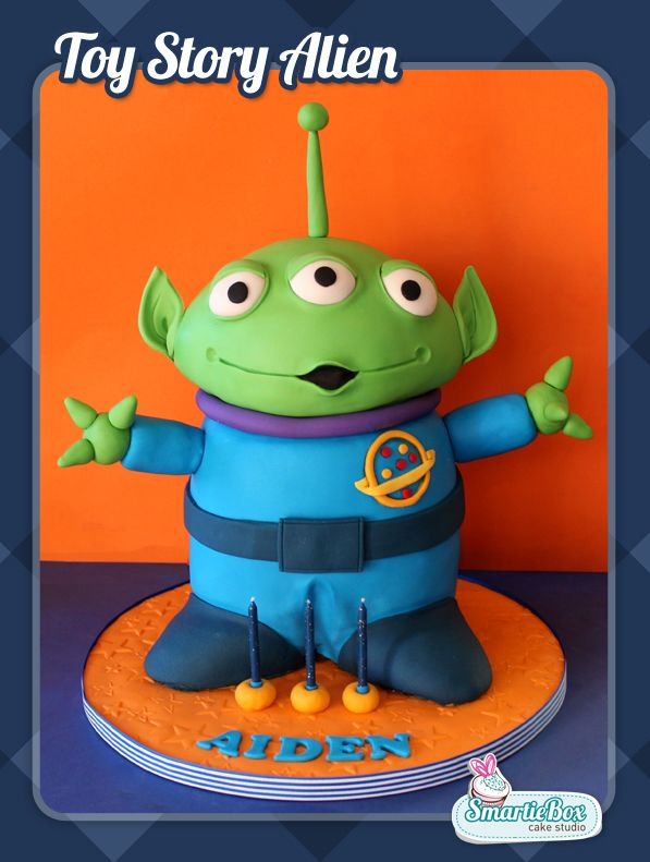 Giant 3D Toy Story Alien Cake