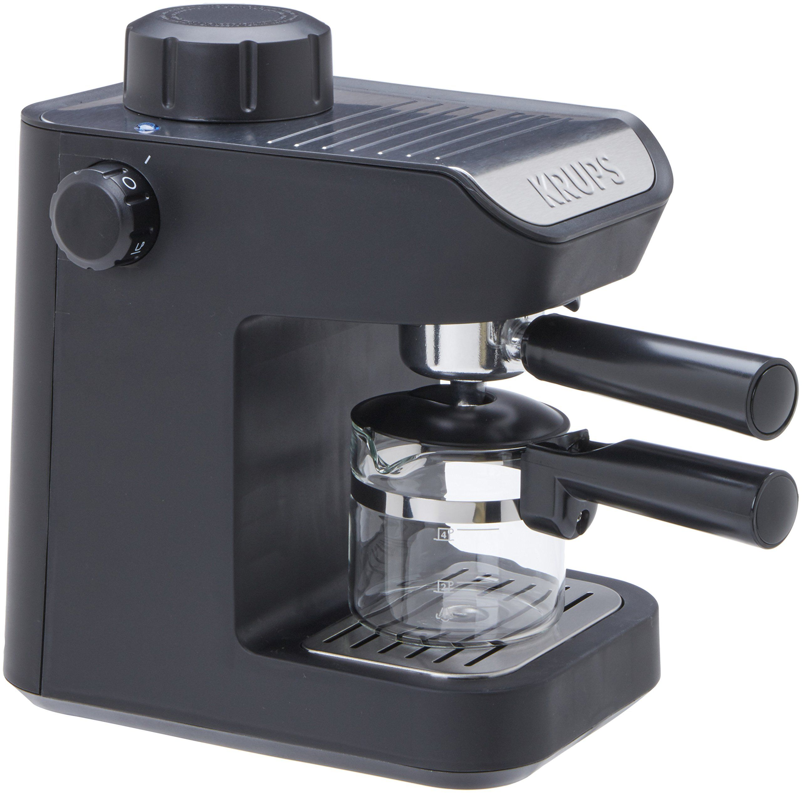 Cafetera espresso manual con molinillo in english