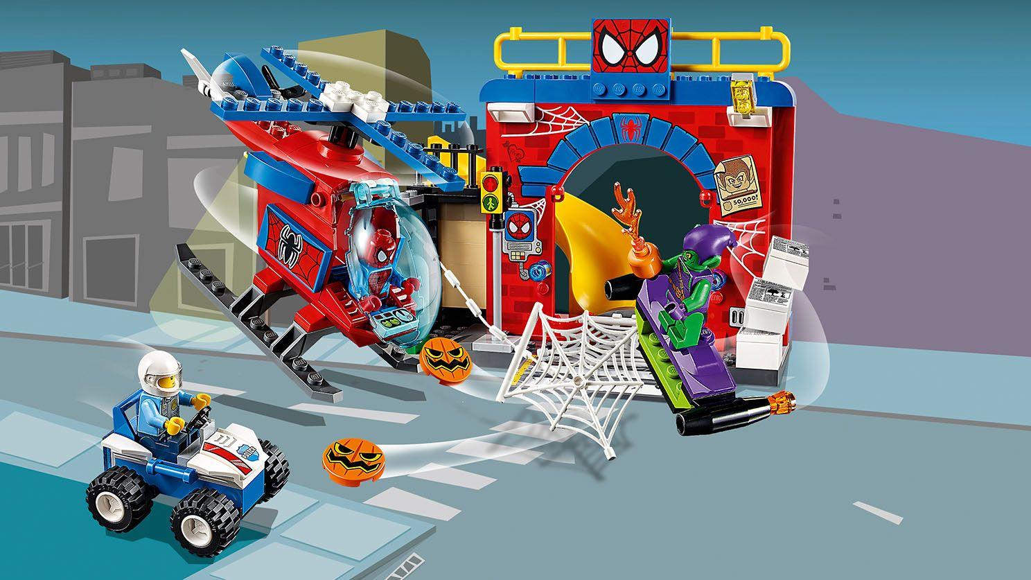 Il nascondiglio di Spider-Man™
