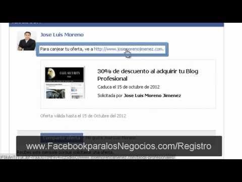http://www.josemorenojimenez.com/2012/09/27/como-crear-una-oferta-en-una-pagina-de-facebook/ Como crear una oferta en una pagina de Facebook