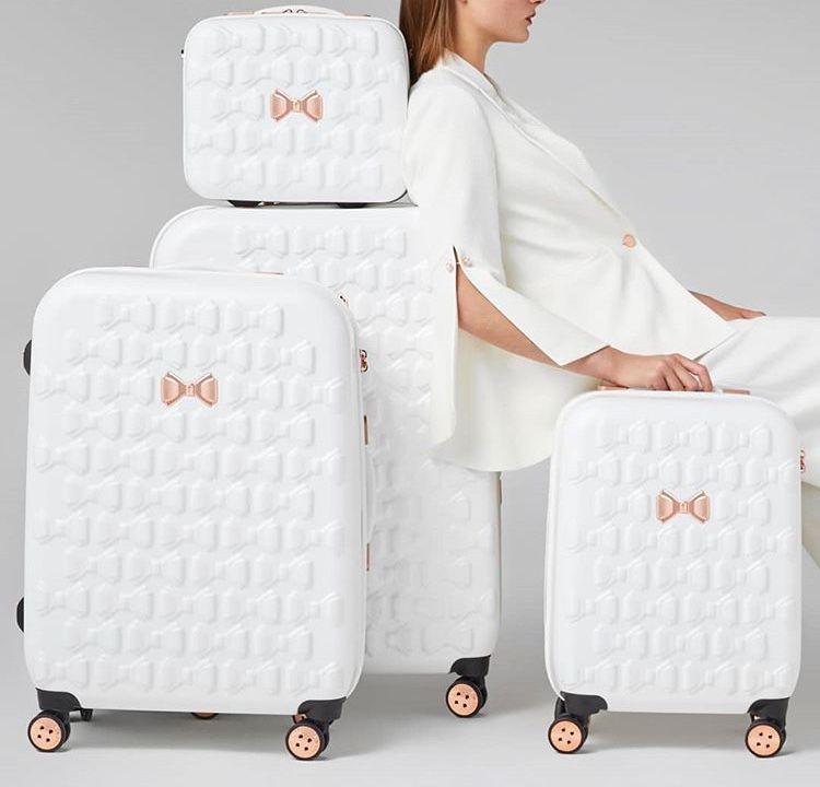 726f73043150 White Ted Baker suitcase set | BOLSAS | Pinterest | Ted, Suitcase ...