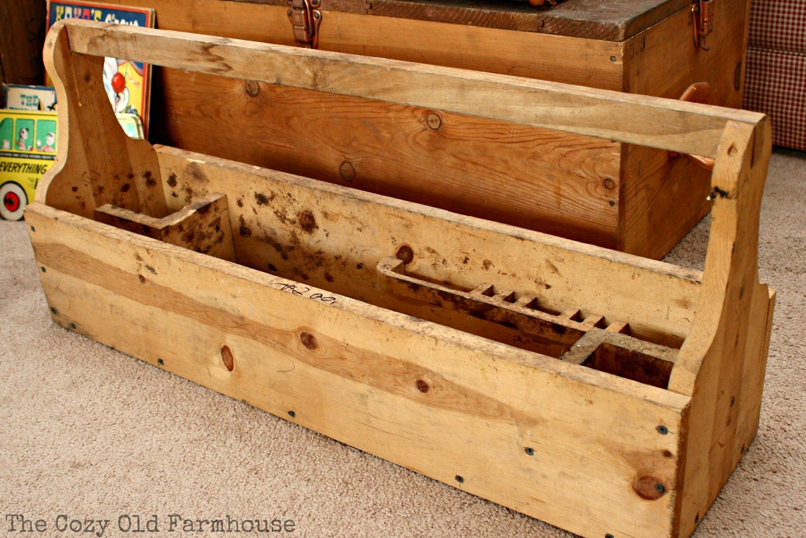 Wood Tool Box And How To Make It Plans For Wooden Antique Old Designs