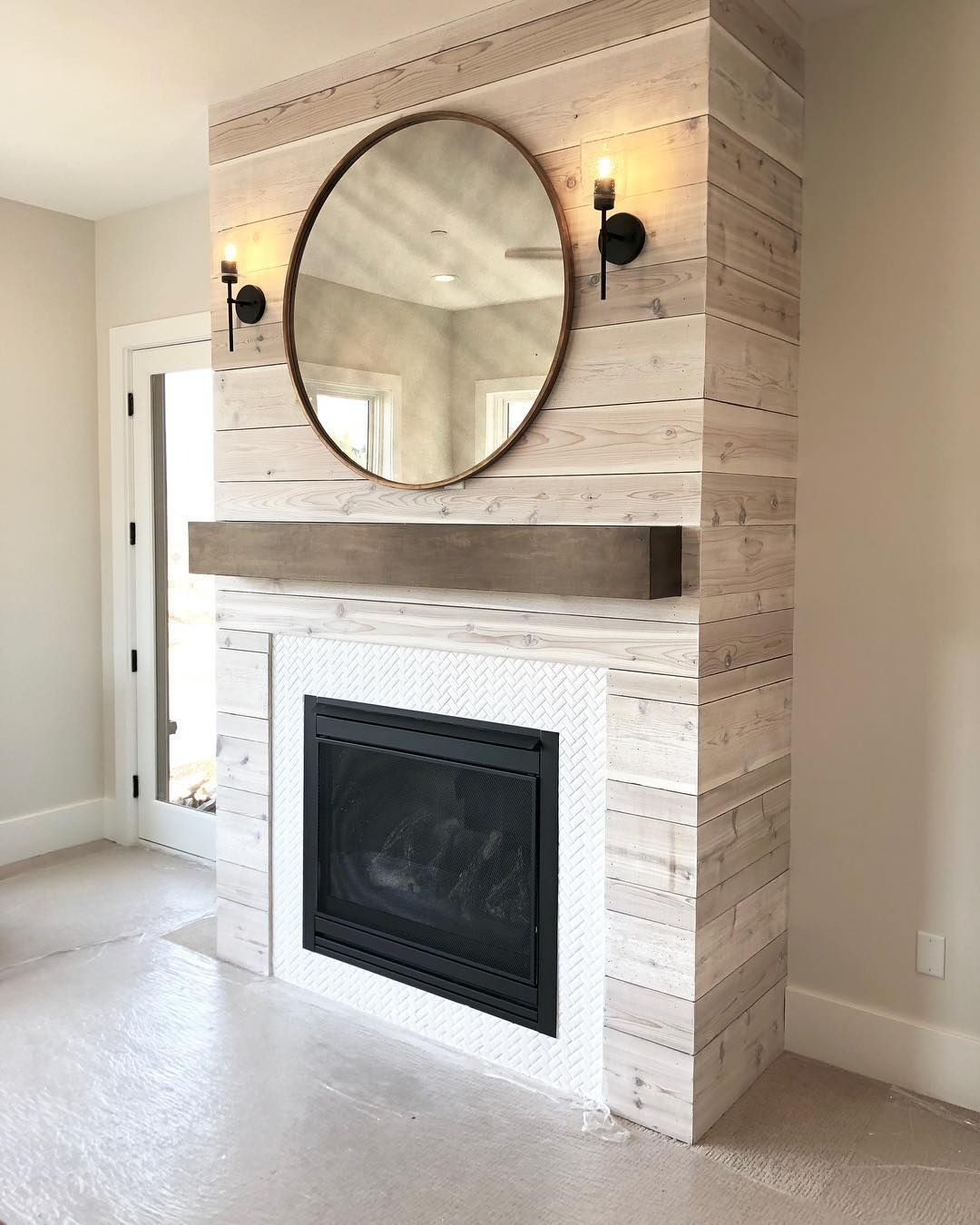 671 9k Followers 595 Following 2 873 Posts See Instagram Photos And Videos From Stitch Fix Stit Herringbone Fireplace Modern Farmhouse Bathroom Fireplace