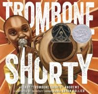 Along with esteemed illustrator Bryan Collier, Andrews has created a lively picture book autobiography about how he followed his dream of becoming a musician, despite the odds, until he reached international stardom. Trombone Shorty is a celebration of the rich cultural history of New Orleans and the power of music.