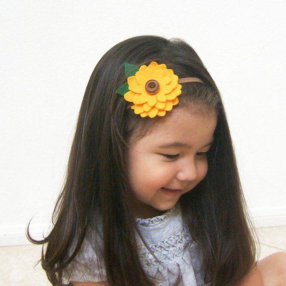 Sunflower Headband b2904431330
