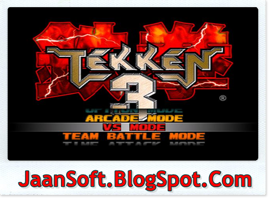 Tekken 3 PC Game Free Download Full Version | JaanSoft