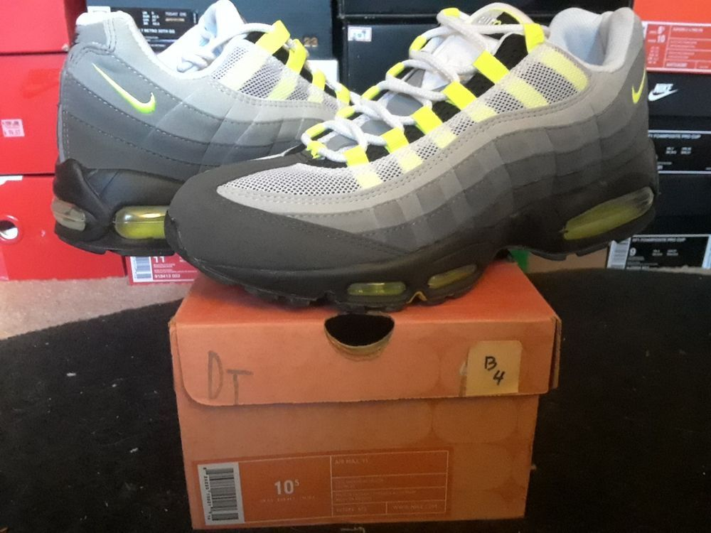 Nike Air Max 95 OG 2003 HOA Retro Cool Grey Neon Volt Yellow