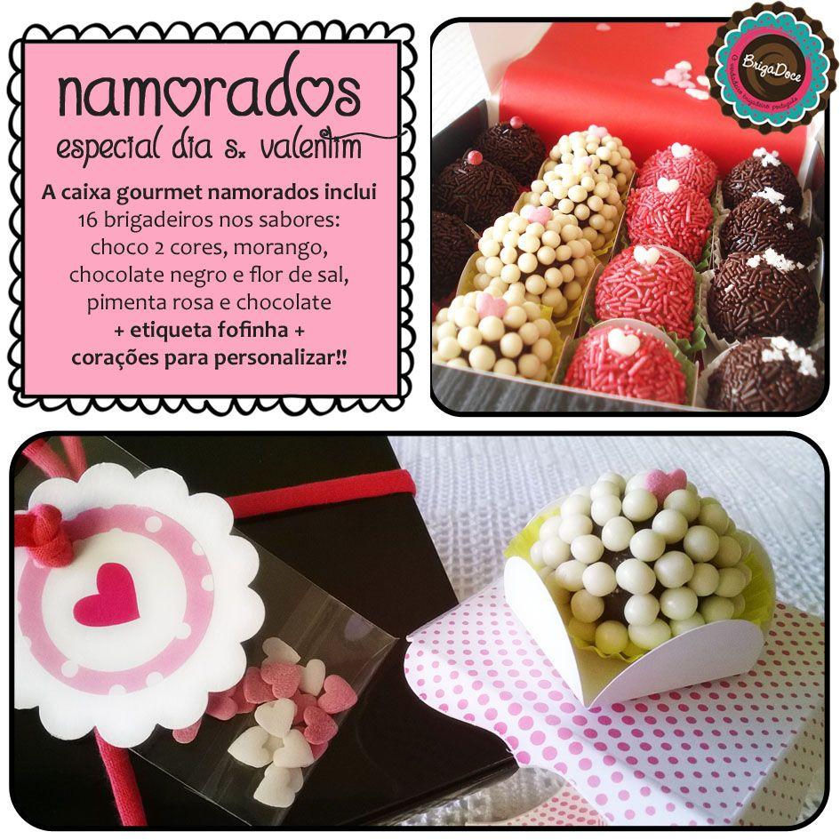 Brigadeiros Especial Namorados (Dia de S. Valentim / Valentine´s day)