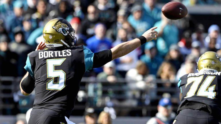 NFL Playoffs 2018 Jaguars should let Bortles sling it, 7