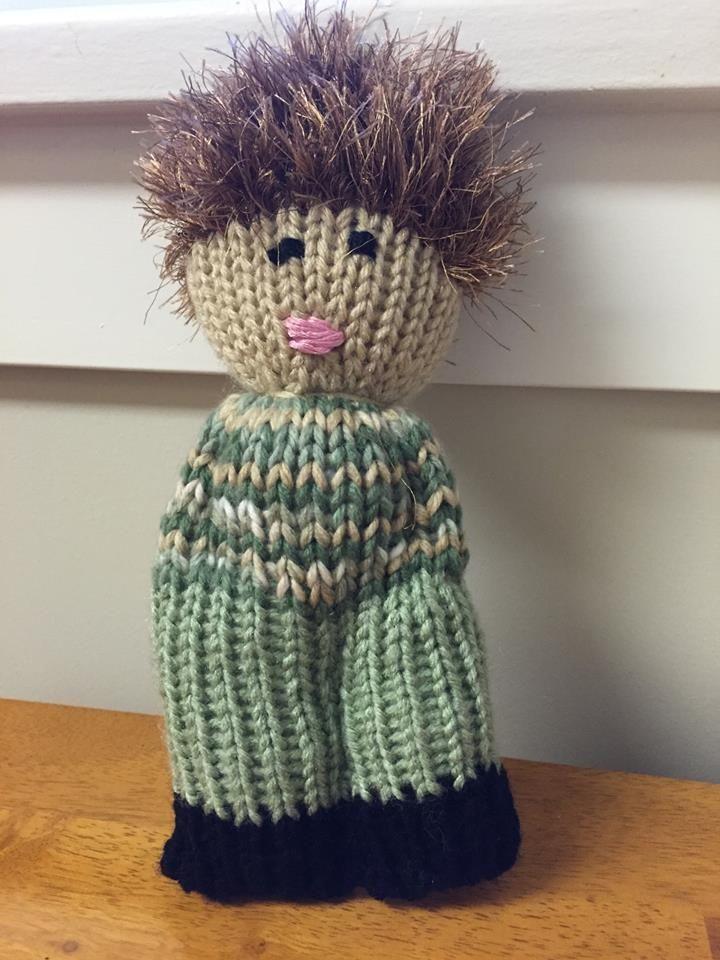 Comfort Doll Loom Knit Dolls Knitted Dolls Knitting
