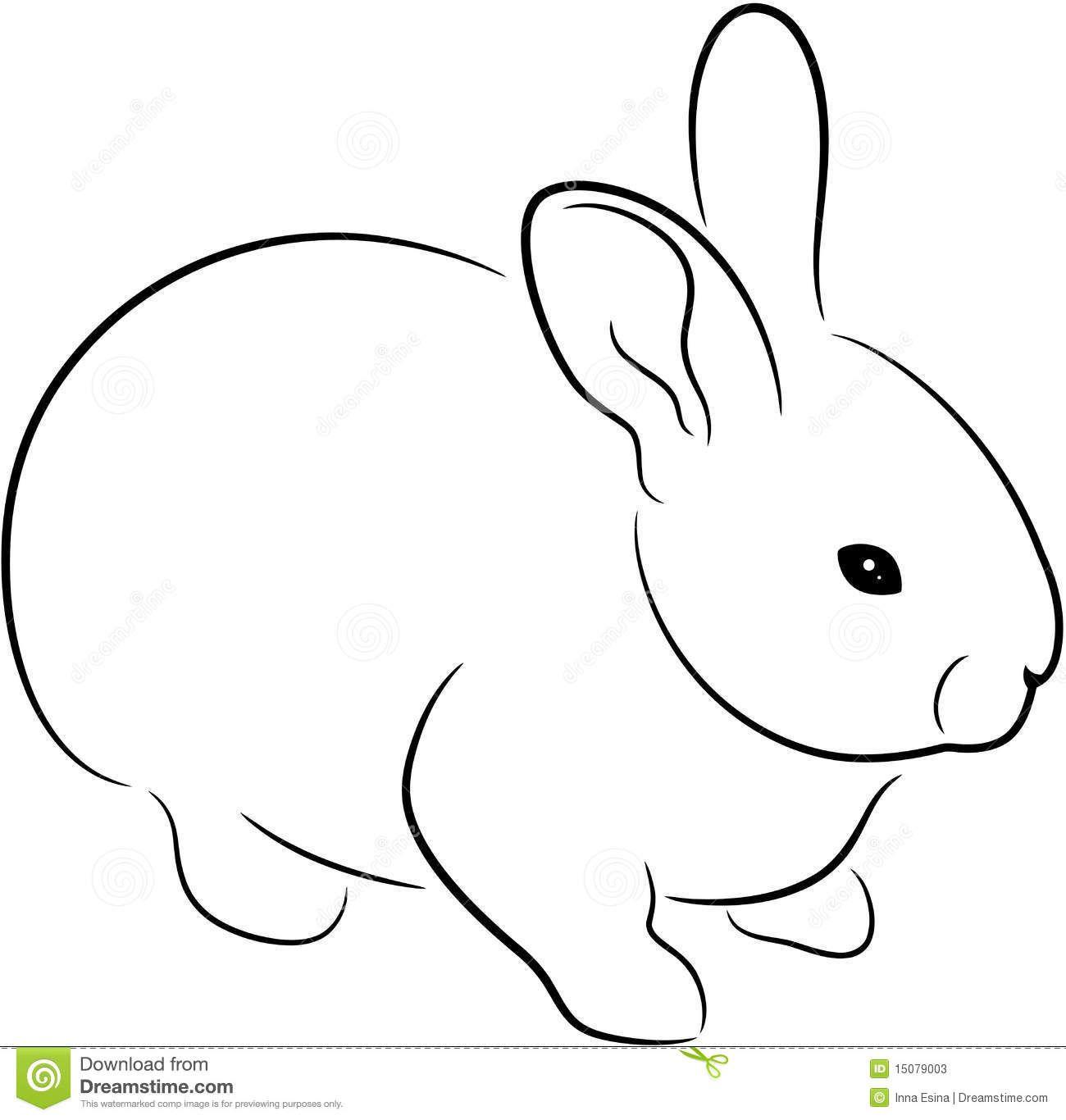 Rabbit Outline