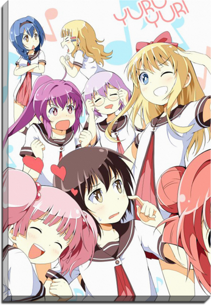yuruyuri anime canvas yuruyuri pinterest yuri yuri anime and