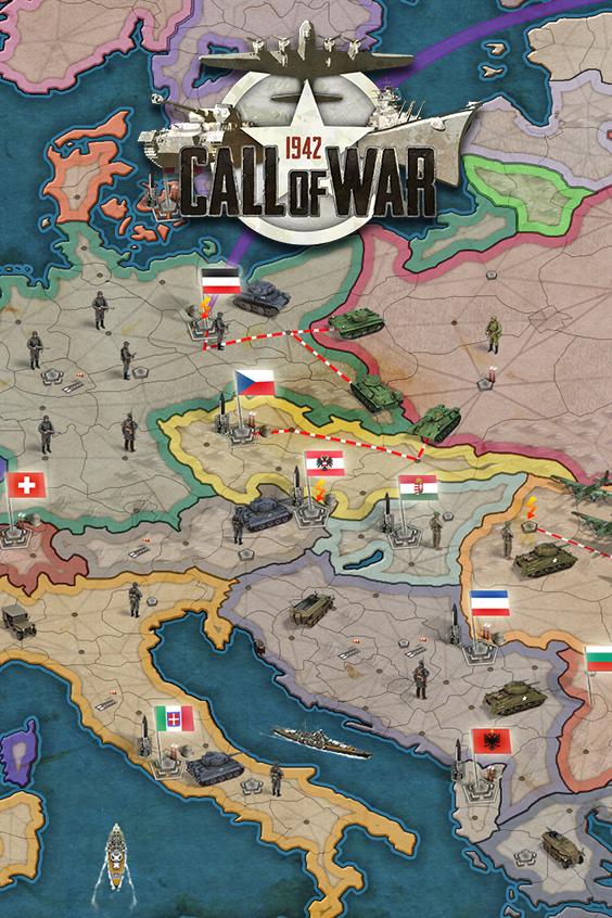 Grand World War II Strategy Game - FREE TO PLAY! Sign up now