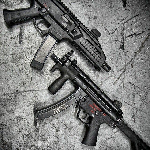 CZ Scorpion EVO vs MP5