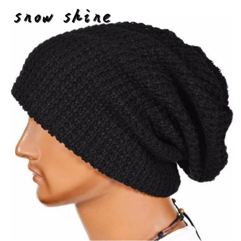 >> Click to Buy << snowshine #5003  Men Women Warm Winter Knit Beanie Skull Slouchy Cap Hat FREE SHIPPING #Affiliate