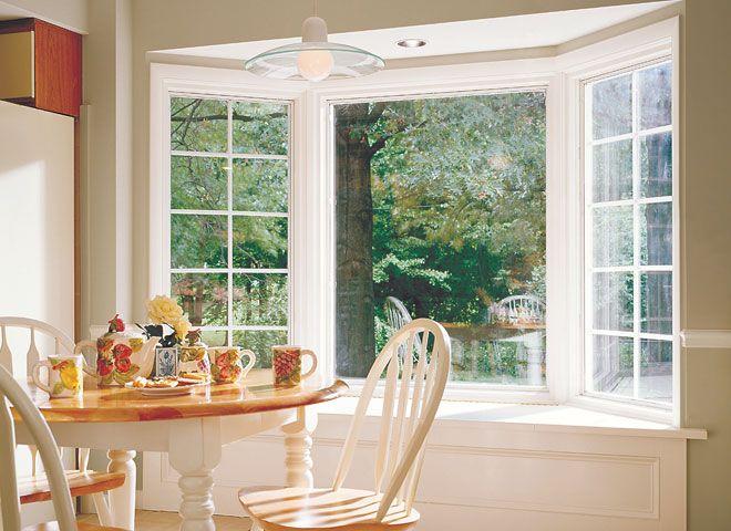 Create A Cozy Breakfast Nook Withpella Proline Wood Bay Windows