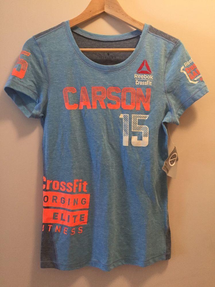 698e93ca4 NWT womens Reebok crossfit games shirt 2015 carson size small retail $60 |  eBay