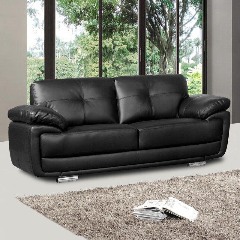 Stilvolle Schwarze Leder Sofas Schwarz Leder Sofa Kollektion