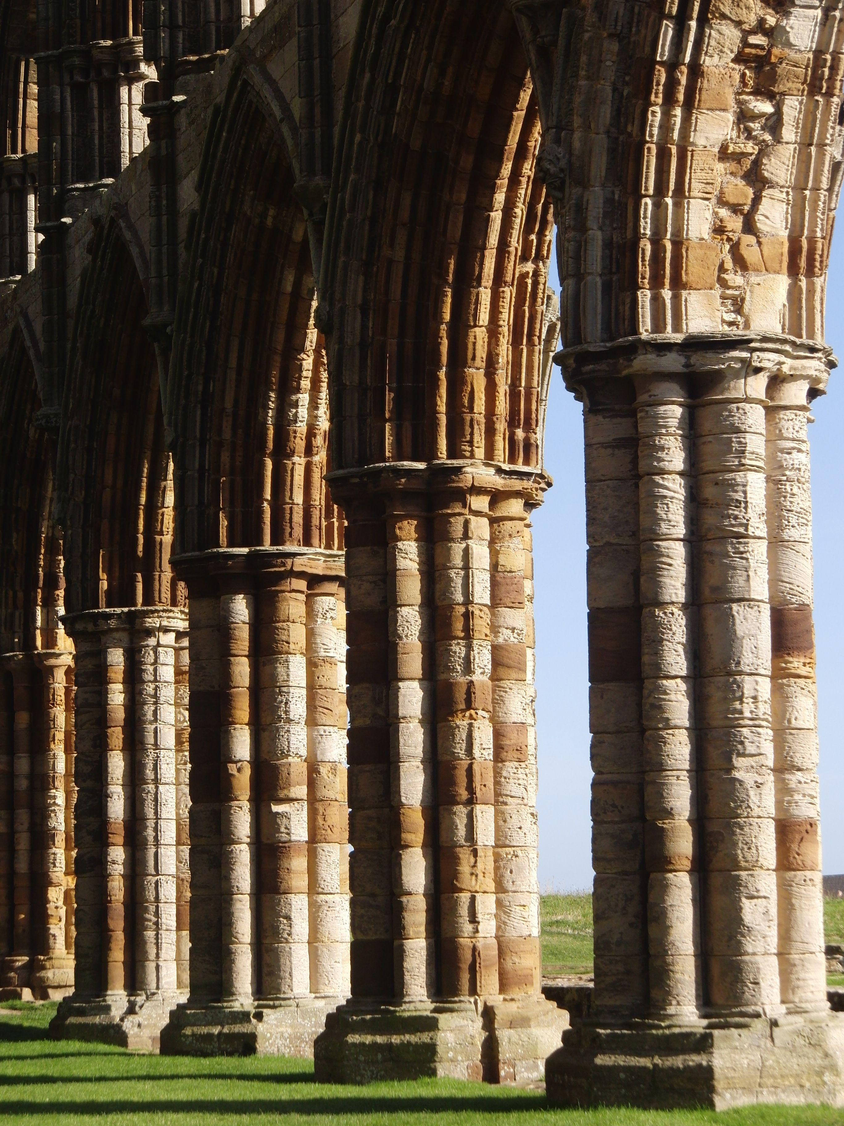 Whitby Abbey Yorkshire Uk