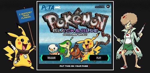 To Protest Against 'Virtual Animal Abuse', PETA Launches 'Anti-Pokemon' - DesignTAXI.com