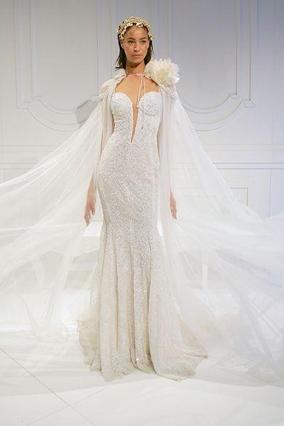 Wedding gown byGalia Lahav.