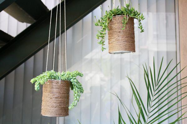 Diy Flower Pots Hanging And Standing Hanging Flower Pots Diy