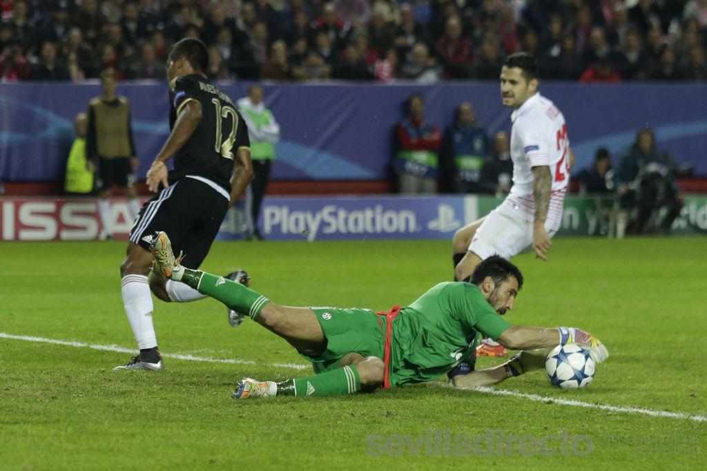 Vitolo en el Sevilla 1  Juventus 0