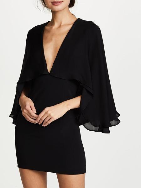 DAY TRIPPER Bodycon Dress - Sleeve Style: Spaghetti Strap