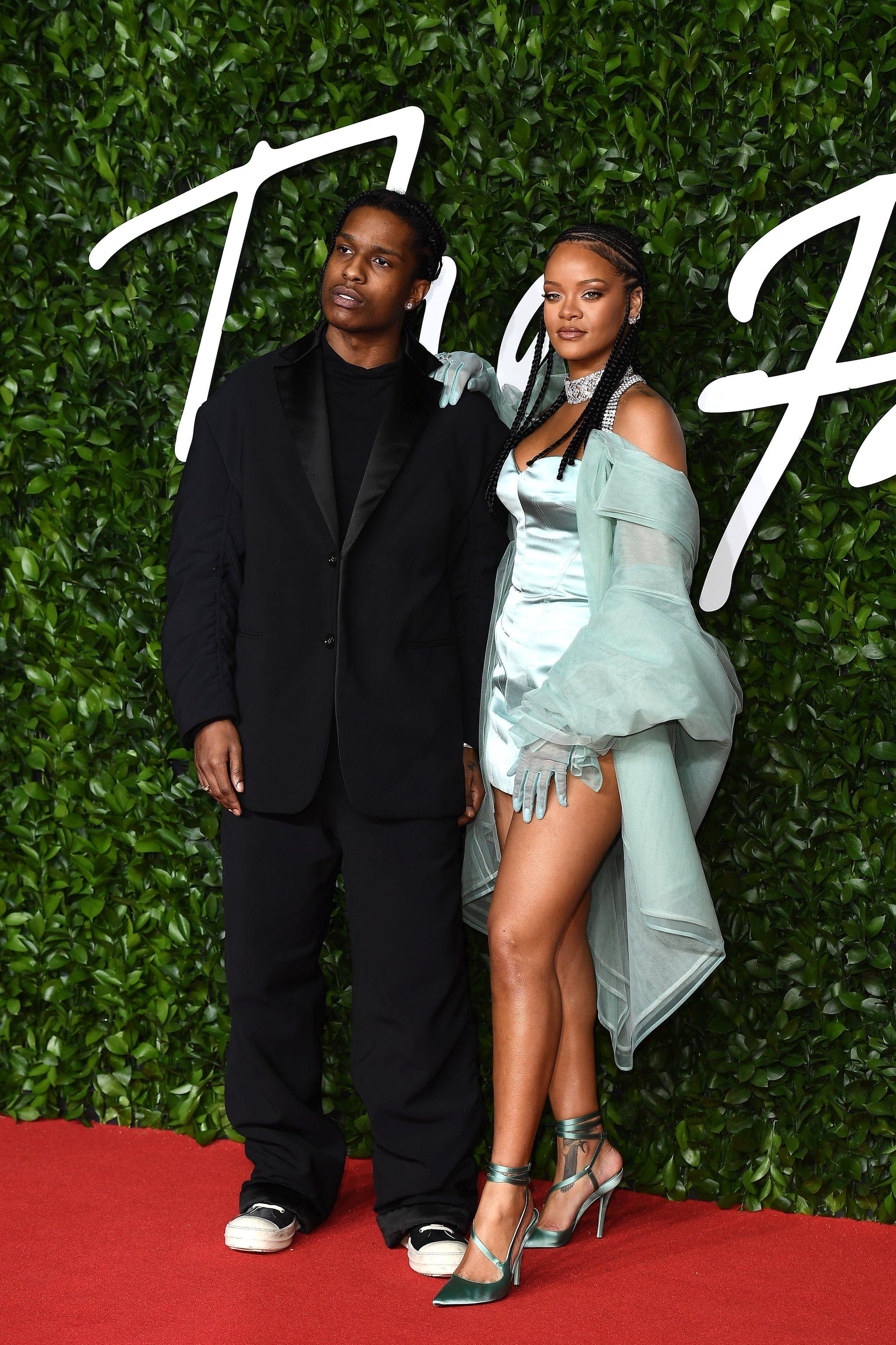 A Ap Rocky And Rihanna At The 2019 British Fashion Awards British Fashion Awards Fashion Rihanna [ 3073 x 2048 Pixel ]