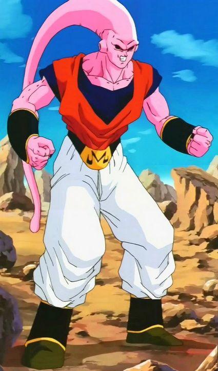 Majin Buu Gohan Trunks Goten And Piccolo Fused Dragon Ball Art Dragon Ball Super Art Dragon Ball Z